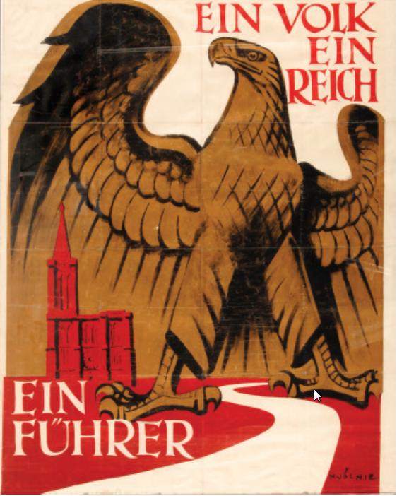 Plakat zum Geburtstag Hitlers (nicht publiziert), BNU 5834428