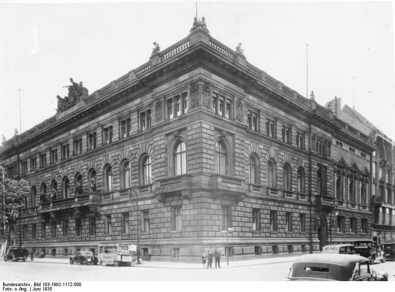 Das Reichsfinanzministerium in Berlin, 1935