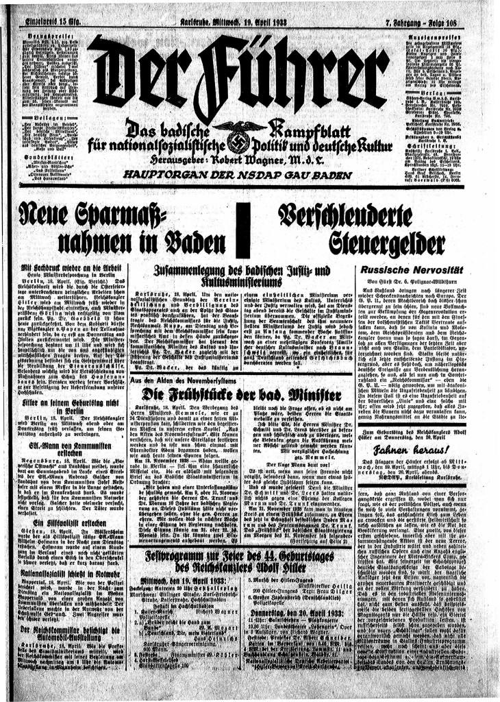 DerFührer_1933_004_April_19_Seite_1