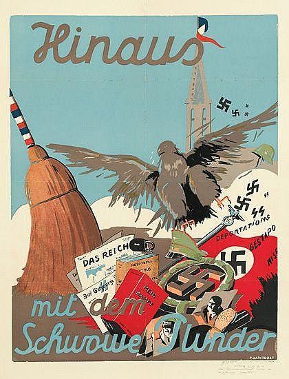 Plakat von P. Sainturat (1945), Musée de l'Armée