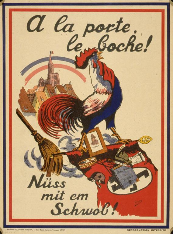 Plakat von Jerry (1945), BNU Strasbourg 1/737281