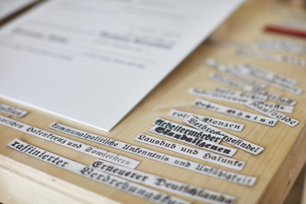 Ausstellungsdokumentation des Goethe Gymnasiums Karlsruhe